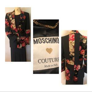 Vintage (90's) Moschino Couture blazer